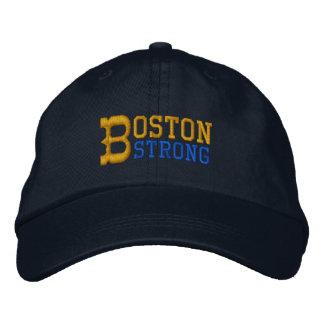 Boston fuerte gorra de béisbol bordada