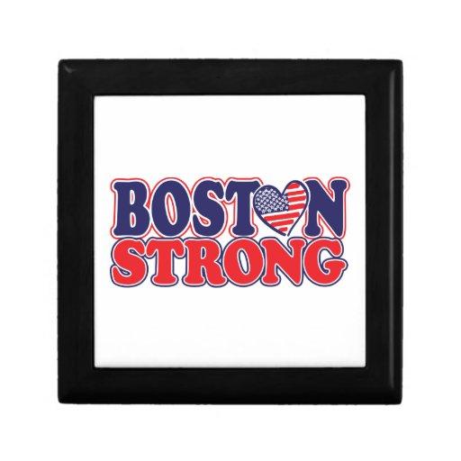 Boston fuerte joyero cuadrado pequeño