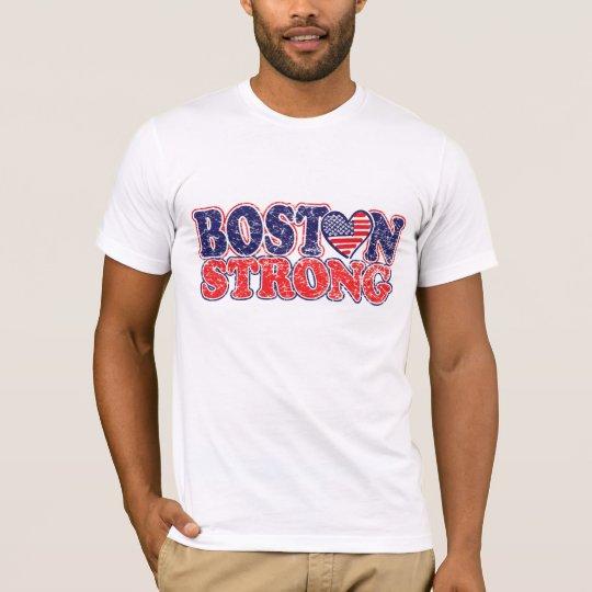 Boston fuerte playera