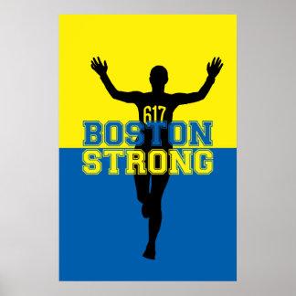 Boston fuerte póster