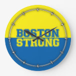 Boston fuerte reloj redondo grande
