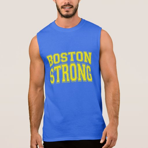 Boston fuerte remera sin mangas