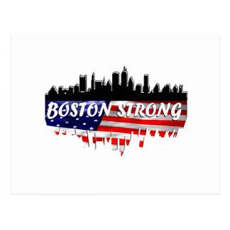 Boston fuerte tarjeta postal
