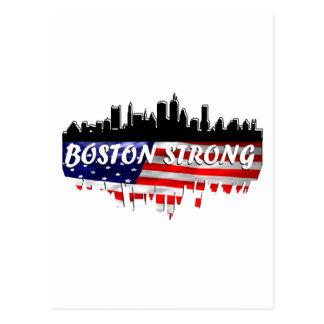 Boston fuerte tarjetas postales
