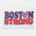 Boston fuerte toalla de mano
