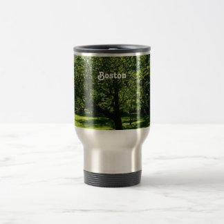 Boston Garden 15 Oz Stainless Steel Travel Mug