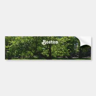 Boston Garden Car Bumper Sticker