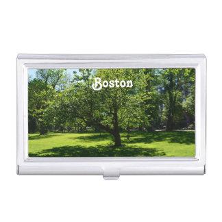 Boston Garden Business Card Cases