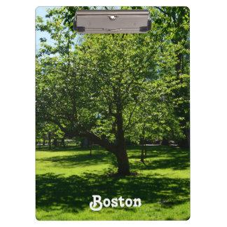 Boston Garden Clipboards