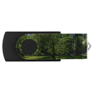 Boston Garden Swivel USB 2.0 Flash Drive