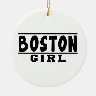 Boston girl designs christmas ornament