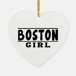 Boston girl designs christmas ornaments