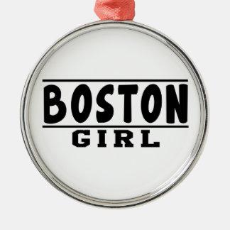Boston girl designs christmas tree ornaments