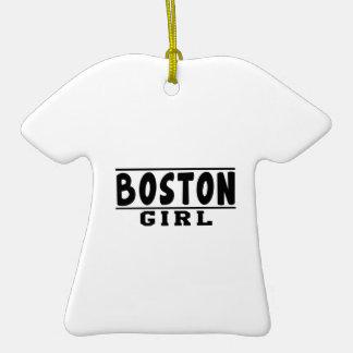 Boston girl designs ornament