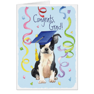 Boston Graduate Greeting Card