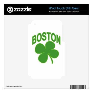 Boston Green SHAMROCK '.png iPod Touch 4G Skin