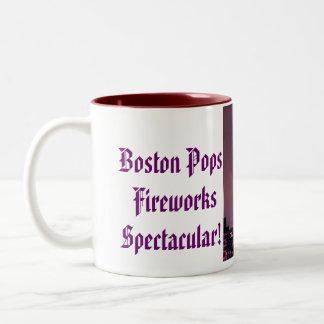 ¡Boston hace estallar los fuegos artificiales espe Tazas De Café