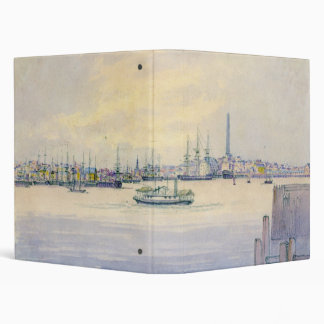 Boston Harbor 1846 3 Ring Binder