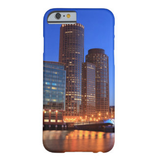 Boston Harbor and skyline.  Boston is one of the 2 Barely There iPhone 6 Case