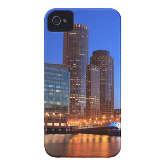 Boston Harbor and skyline.  Boston is one of the 2 iPhone 4 Cover
