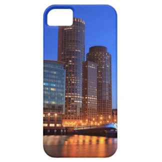 Boston Harbor and skyline.  Boston is one of the 2 iPhone SE/5/5s Case