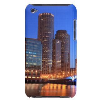 Boston Harbor and skyline.  Boston is one of the 2 iPod Touch Case