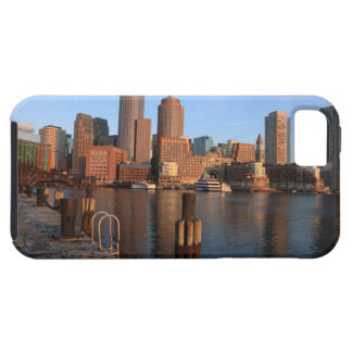Boston Harbor and skyline.  Boston is one of the 3 iPhone SE/5/5s Case
