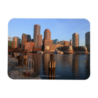 Boston Harbor and skyline.  Boston is one of the 3 Magnet