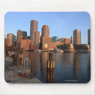 Boston Harbor and skyline.  Boston is one of the 3 Mouse Pad
