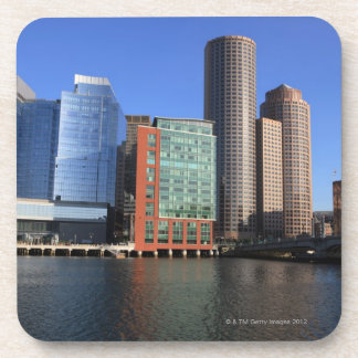 Boston Harbor and skyline.  Boston is one of the 4 Coaster
