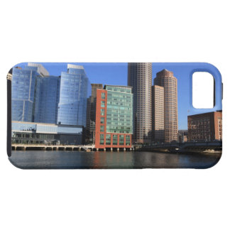 Boston Harbor and skyline.  Boston is one of the 4 iPhone SE/5/5s Case