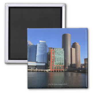 Boston Harbor and skyline.  Boston is one of the 4 Magnet