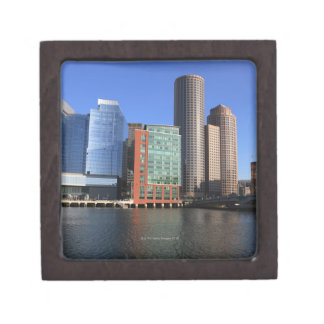 Boston Harbor and skyline.  Boston is one of the 4 Premium Gift Boxes