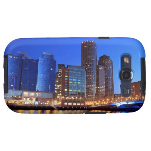 Boston Harbor and skyline.  Boston is one of the 5 Galaxy SIII Case