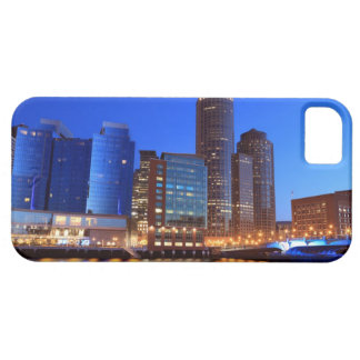 Boston Harbor and skyline.  Boston is one of the 5 iPhone SE/5/5s Case