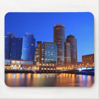 Boston Harbor and skyline.  Boston is one of the 5 Mouse Pad