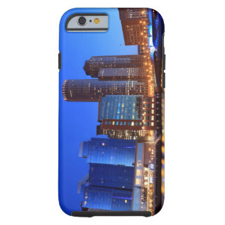 Boston Harbor and skyline.  Boston is one of the 5 Tough iPhone 6 Case