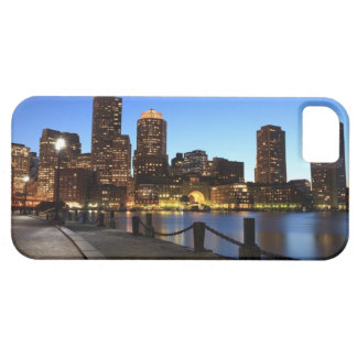 Boston Harbor and skyline.  Boston is one of the 6 iPhone SE/5/5s Case