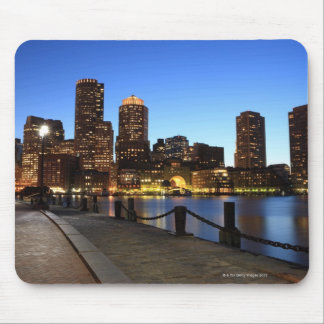 Boston Harbor and skyline.  Boston is one of the 6 Mouse Pad