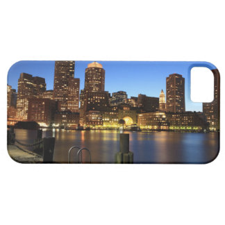 Boston Harbor and skyline.  Boston is one of the 7 iPhone SE/5/5s Case