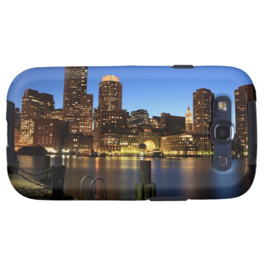 Boston Harbor and skyline.  Boston is one of the 7 Samsung Galaxy S3 Cover
