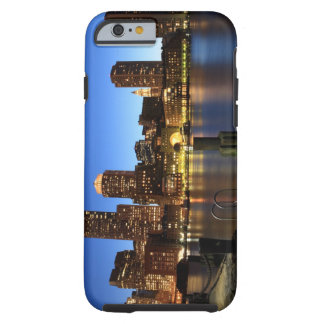 Boston Harbor and skyline.  Boston is one of the 7 Tough iPhone 6 Case