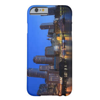 Boston Harbor and skyline. Boston is one of the 8 Barely There iPhone 6 Case