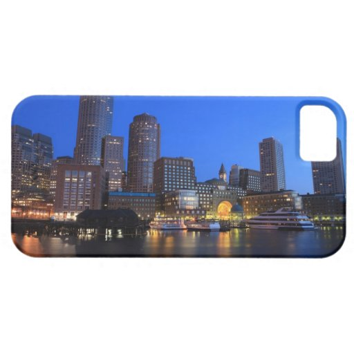 Boston Harbor and skyline.  Boston is one of the 8 iPhone SE/5/5s Case
