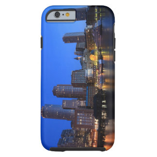 Boston Harbor and skyline.  Boston is one of the 8 Tough iPhone 6 Case