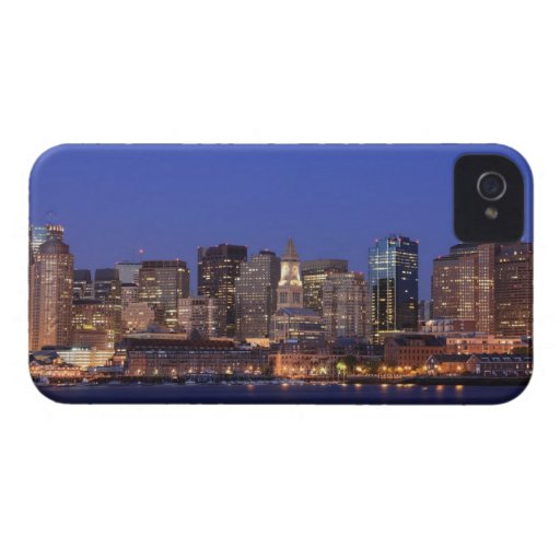 Boston Harbor and skyline.  Boston is one of the 9 iPhone 4 Cover