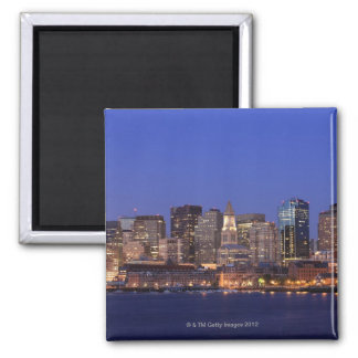 Boston Harbor and skyline.  Boston is one of the 9 Magnet