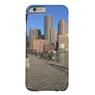 Boston Harbor and skyline.  Boston is one of the Barely There iPhone 6 Case