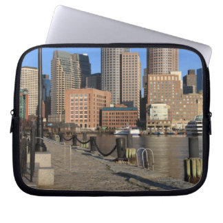 Boston Harbor and skyline.  Boston is one of the Computer Sleeve