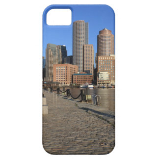 Boston Harbor and skyline.  Boston is one of the iPhone SE/5/5s Case